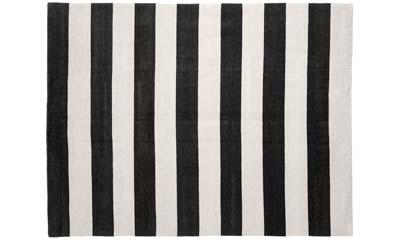 Black and white striped rug target roselawnlutheran - Black white striped carpet ...