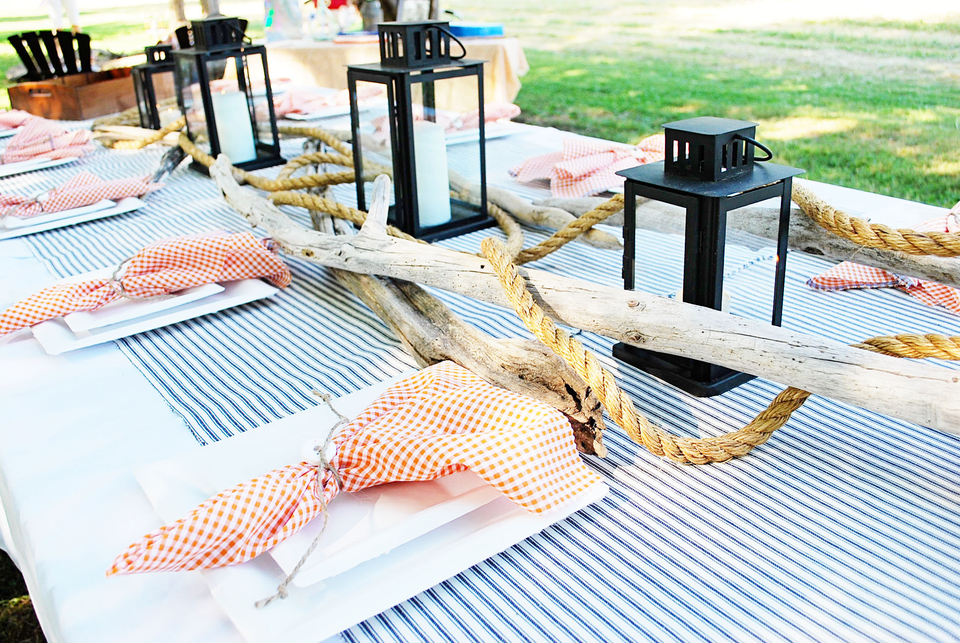 Day 4: Party Table Linens