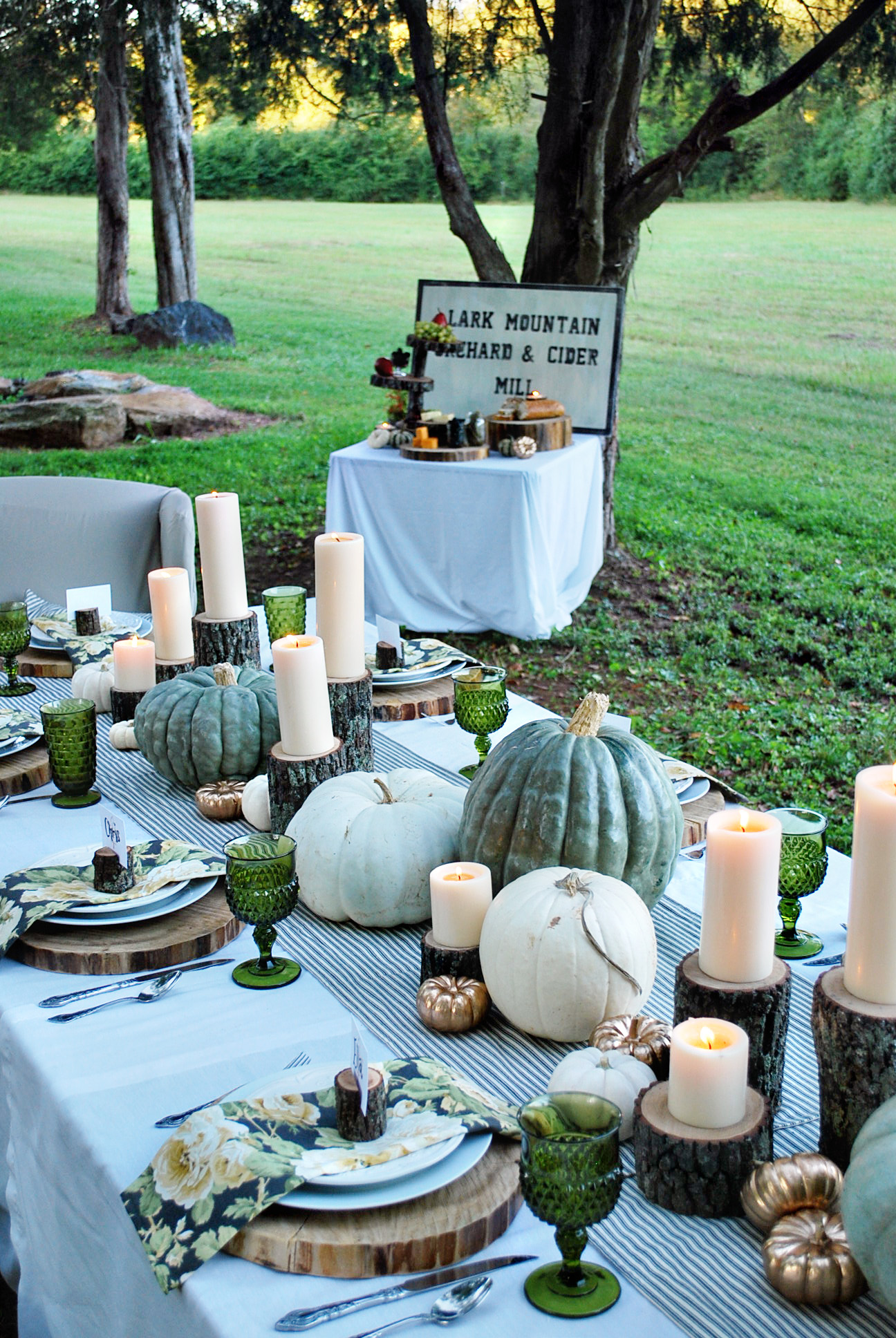 Fall Table Scapes Enchanted Autumn Thewhitebuffalostylingcocom