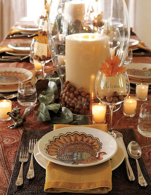 Thanksgiving table inspiration for Pottery barn thanksgiving