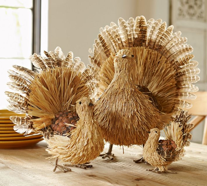 Thanksgiving table inspiration Natural decorating
