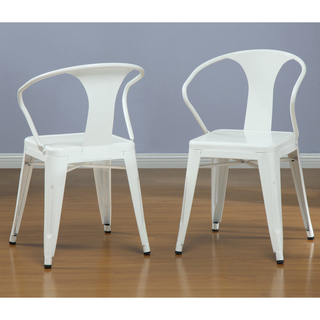 White Overstock Chairs