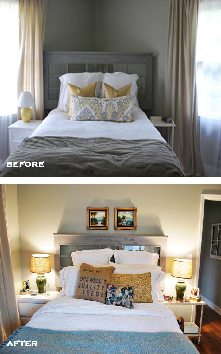 Life of Splendor Master Bedroom B&A copy