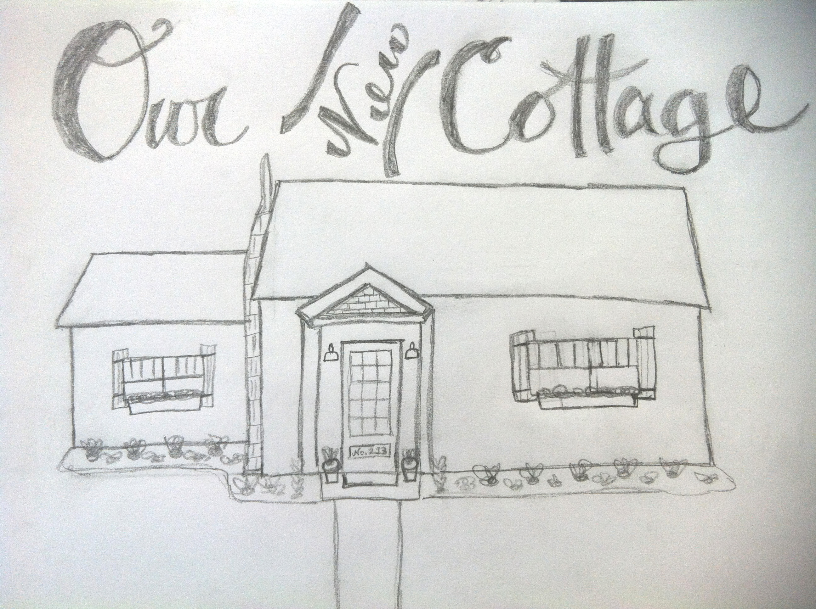 Our New Cottage Sketch