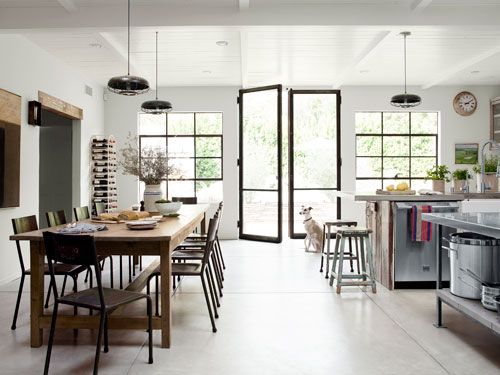Modern country in country living for California home and design magazine