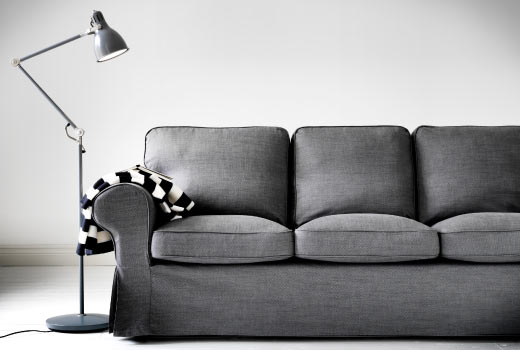 The epic sofa saga for Ikea gray sofa