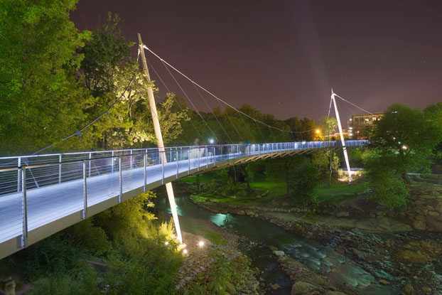 Falls Park Greenville SC