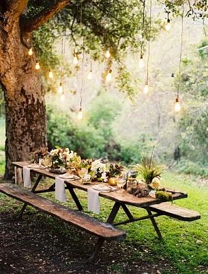 flowerwildevents.blogspot.ca Outdoor Dinner Party