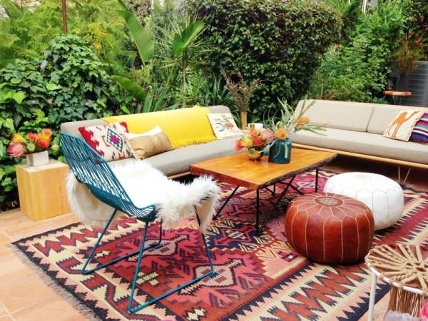 stylebyemilyhenderson.com Outdoor Living Area