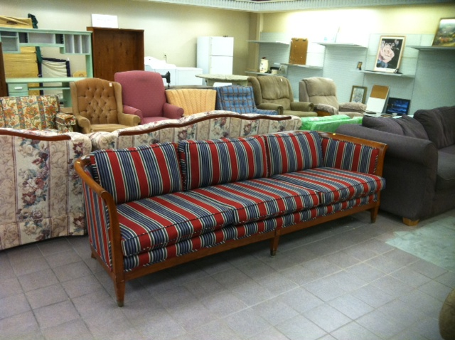 Life of Splendor Thrifted couch
