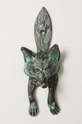 Sly Fox Doorknocker