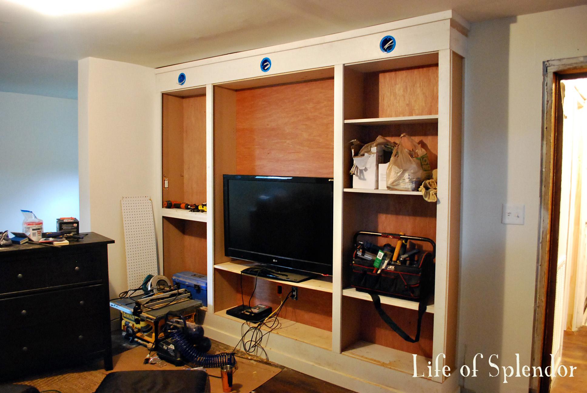 Bookshelves In Progress 2
