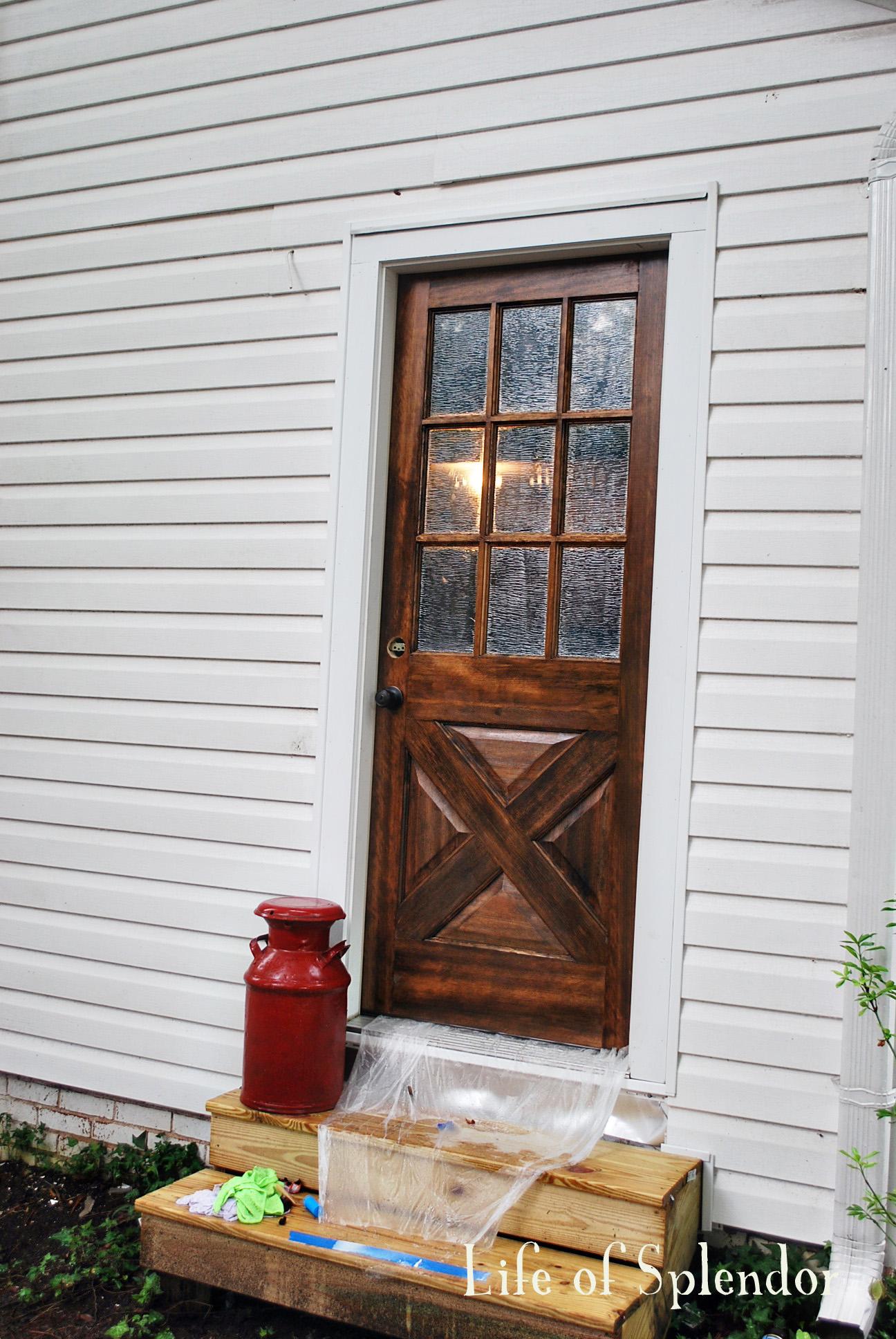 Kitchen Door AFter 3