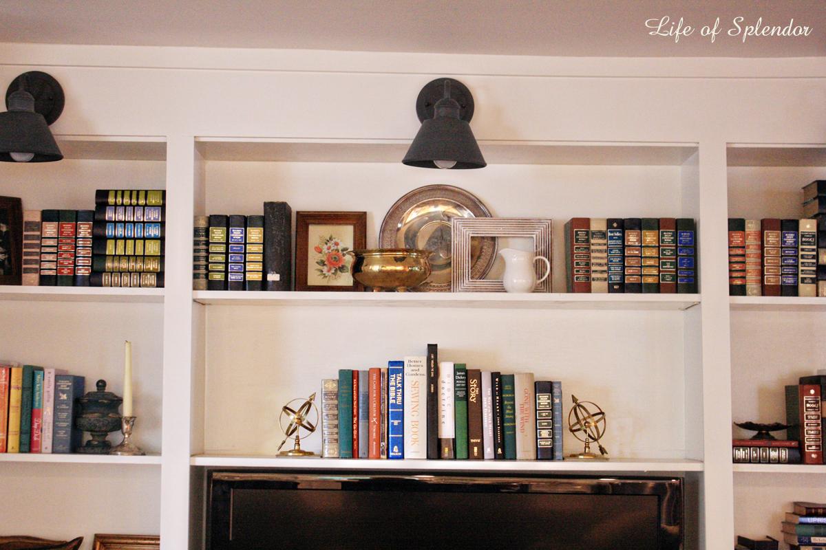 Bookshelf Styling 3