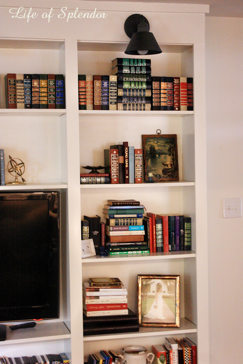 Bookshelf Styling 5