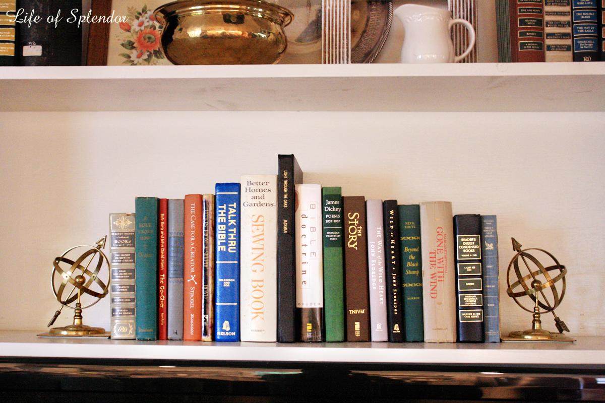 Bookshelf Styling 8