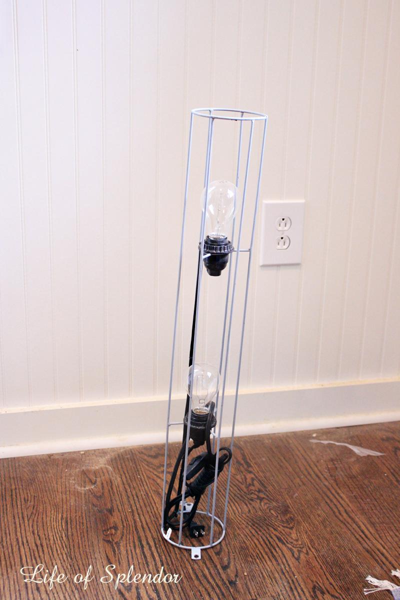 Calypso Lamp turned Kitchen Chandelier 1