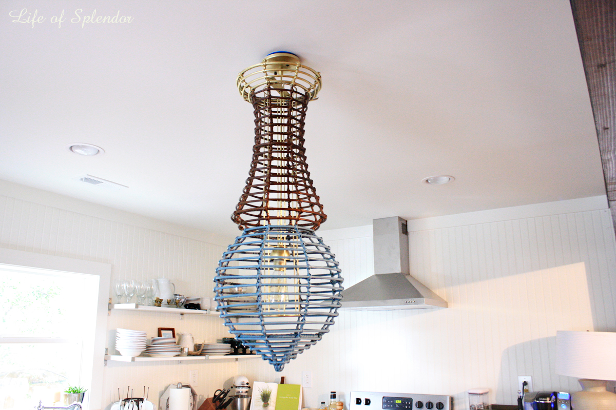Paint Dipped Chandelier 3