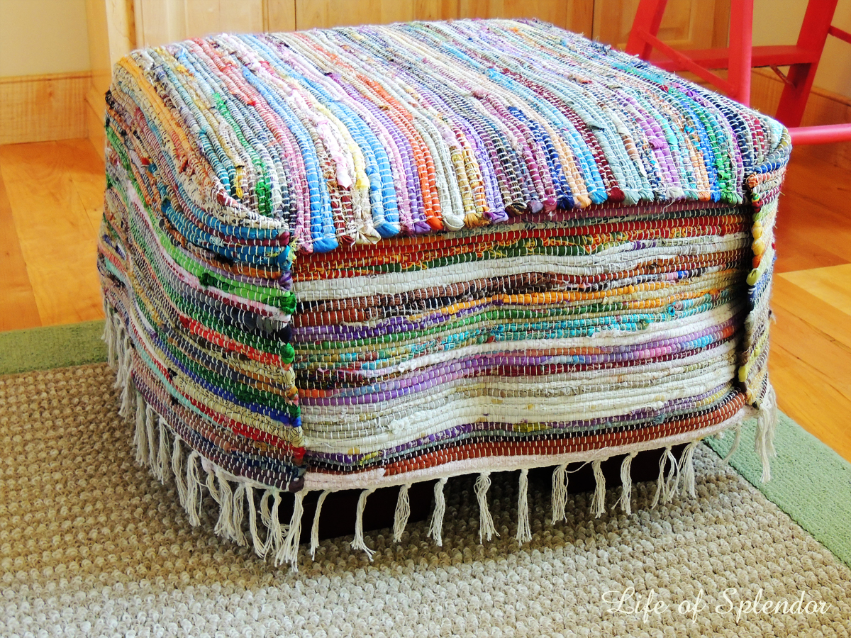 Rug Turned into Slipcover