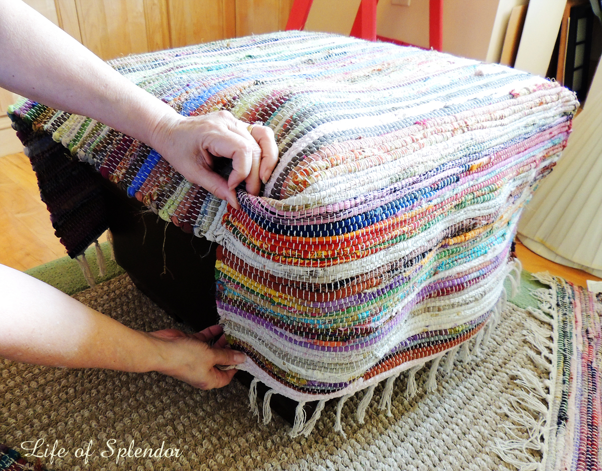 Rug into Slipcover 2