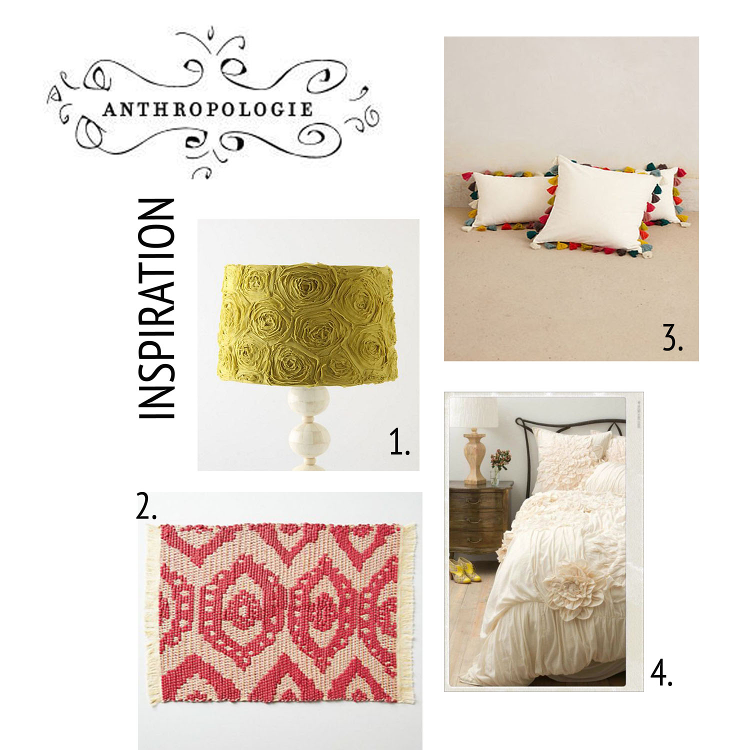 Anthropologie Inspiration Board