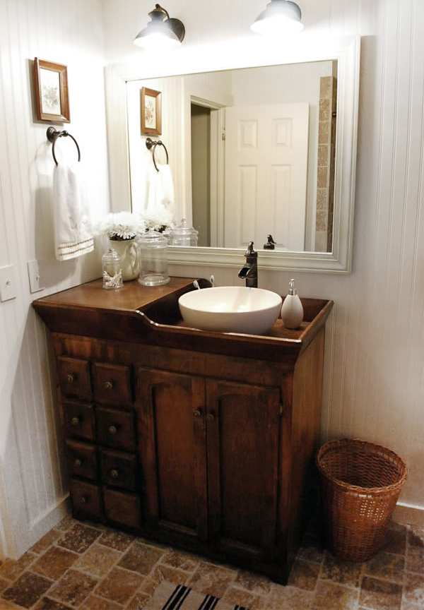 Used Bathroom Sinks : Our Bathroom on CNN, what????! - thewhitebuffalostylingco.com