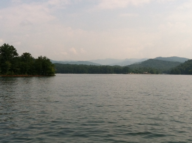 Lake Keowee Mountains