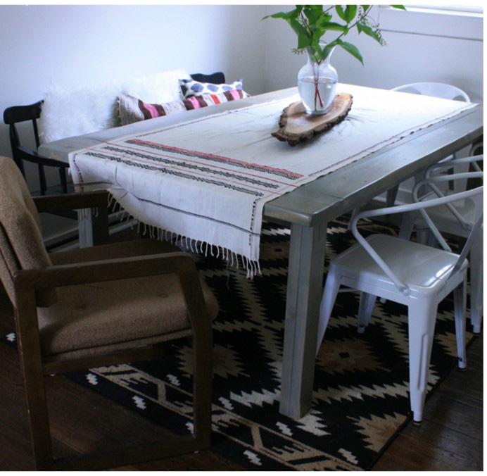 Bohemian Modern dining room