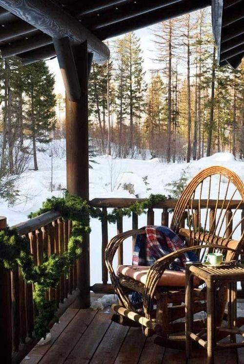 Christmas Porch Sitting