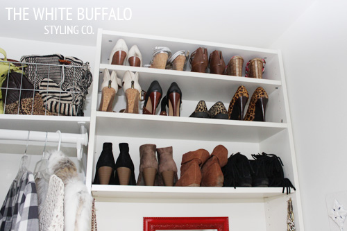 Billy Bookshelves As Shoe Storage