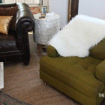 Tufted Mid-century Chair