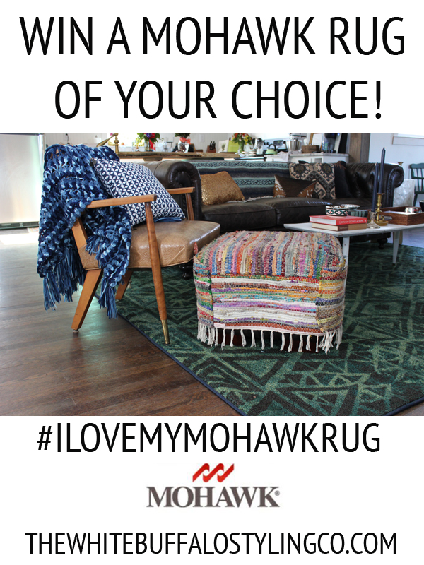 Mohawk Area Rug Giveaway from thewhitebuffalostylingco.com