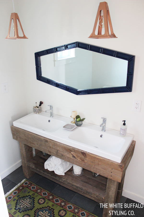 diy rustic bathroom vanity 10 diy light fixtures megan handmade 18160