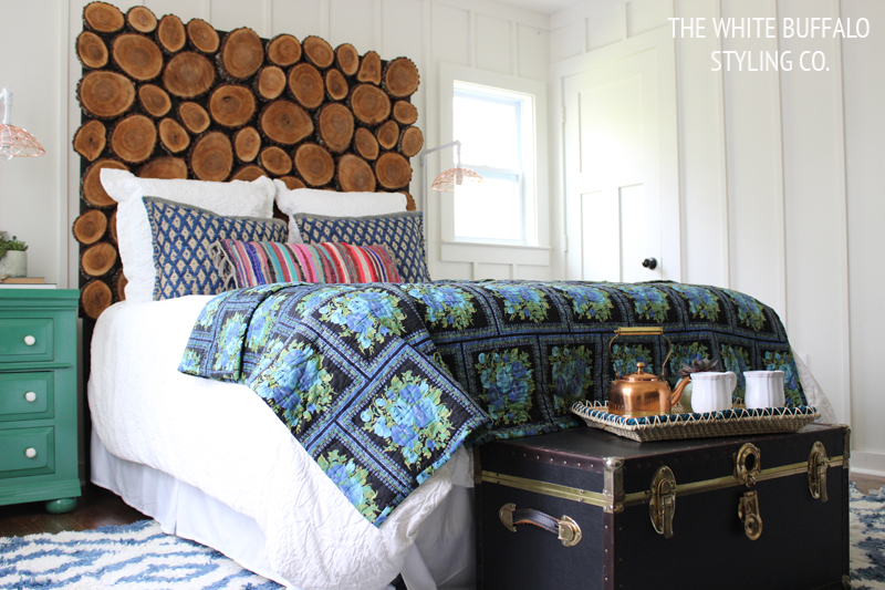Rustic Eclectic Master Bedroom