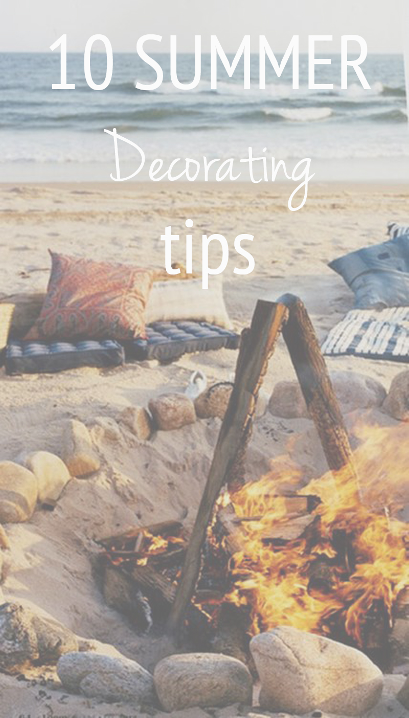 10 Summer Decorating Tips