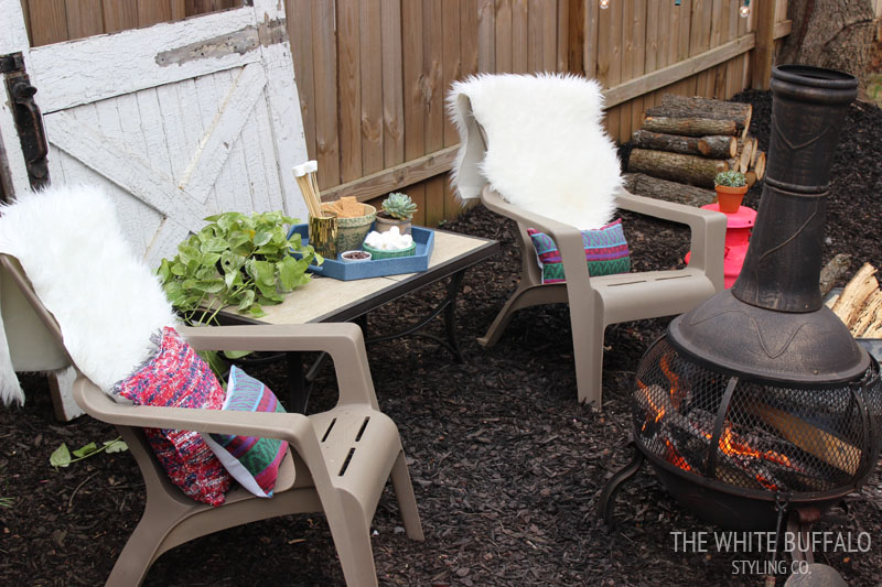 Fire Pit with Personality