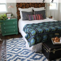 Why Every Single Bedroom Should have a Moroccan Shag Rug