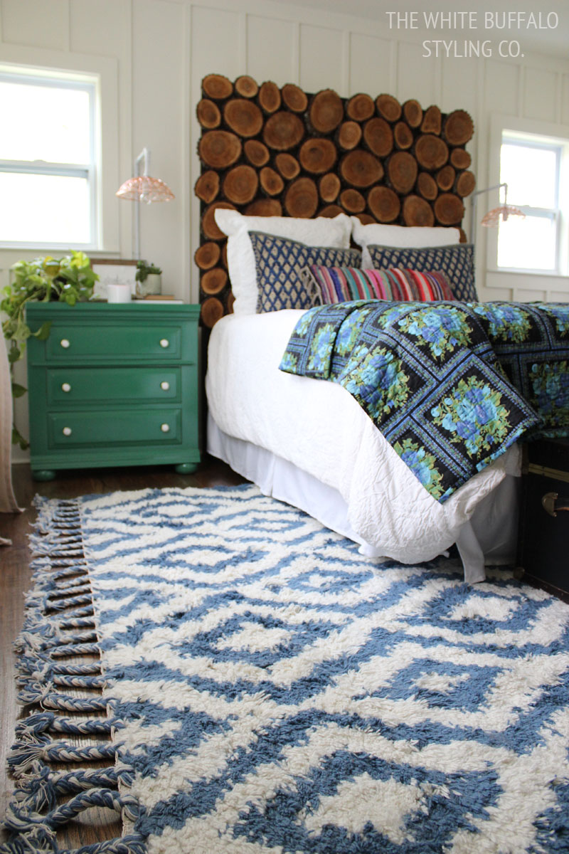 Why Every Bedroom Should have a Moroccan Shag Rug ...