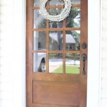 12-light-wooden-front-door