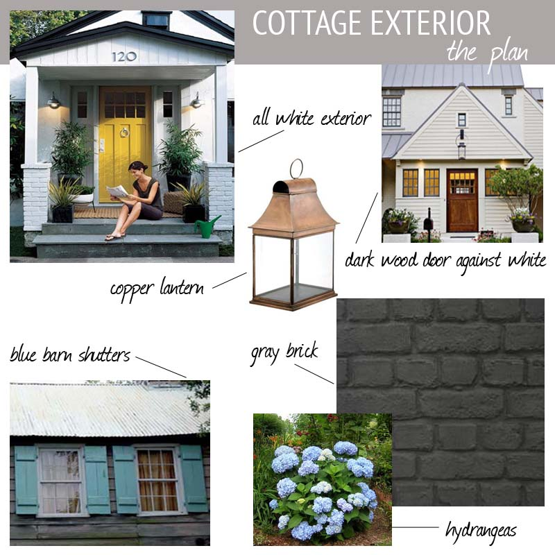 Cottage Exterior Mood Board