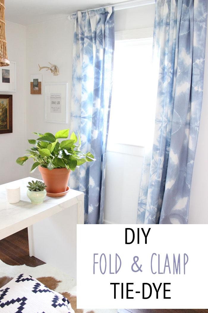 Diy Fold Clamp Tie Dye Thewhitebuffalostylingco Com