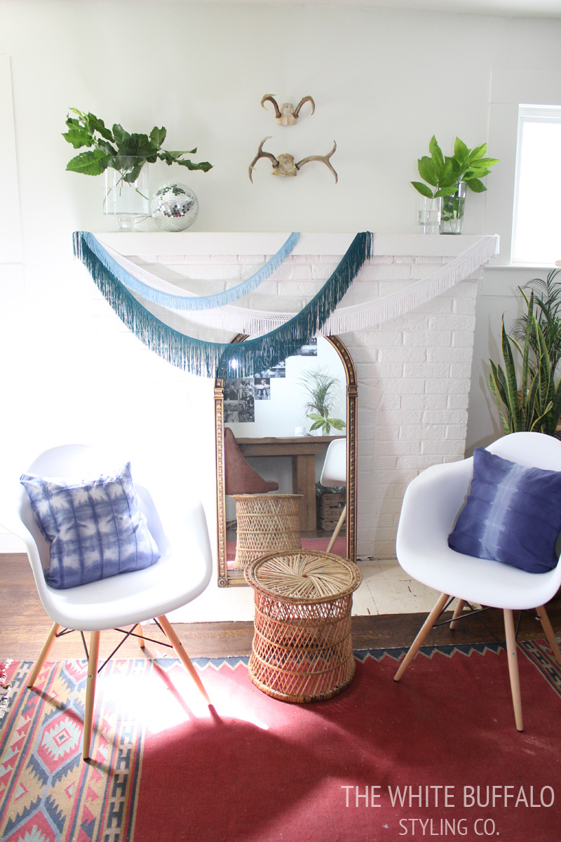 Diy tie dye lampshade for Front room accessories