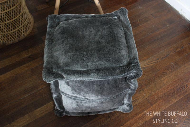 fur-pouf-before