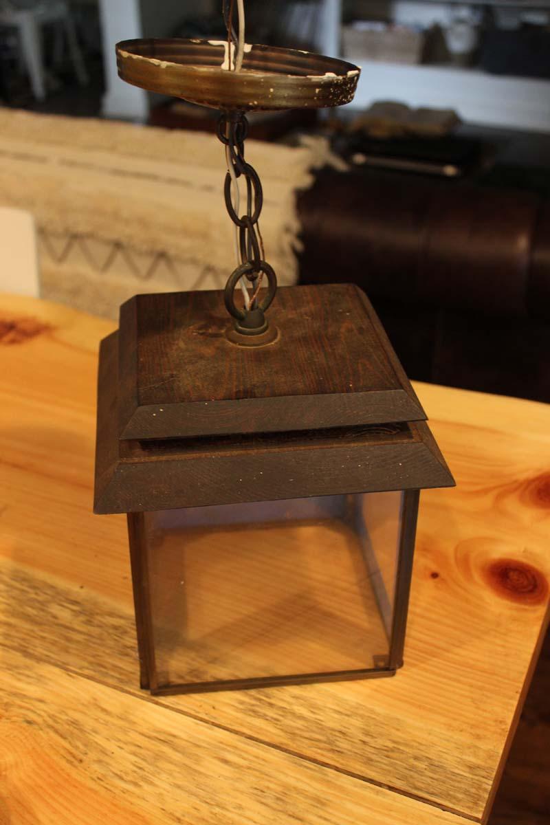 Thrift Store Lantern