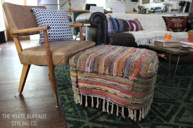 rag-rug-slipcovered-ottoman