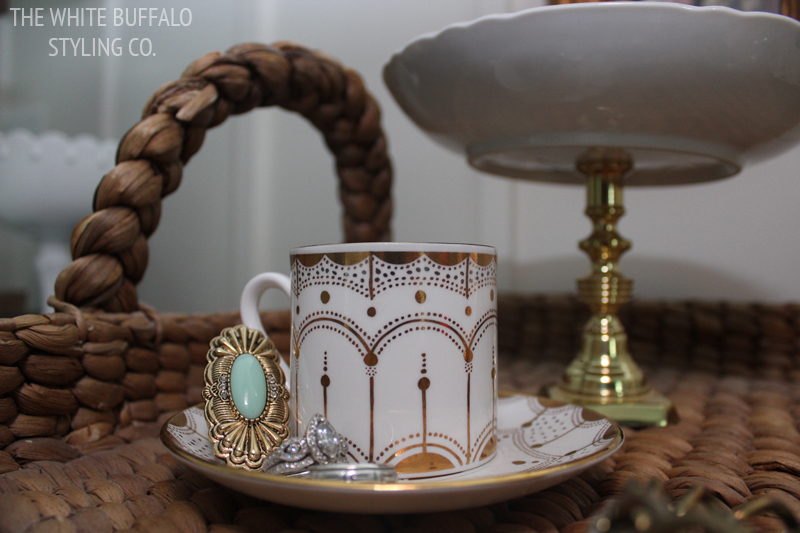 Teacup as Jewelry Storage