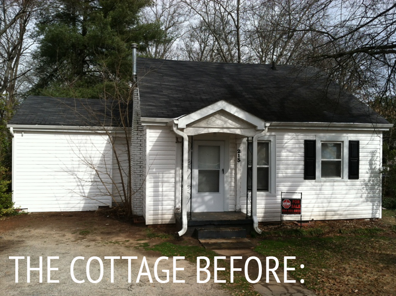 Our cottage exterior the renovation plan Small cottage renovation ideas
