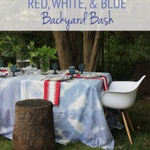 Ultimate Red, White, & Blue Backyard Bash