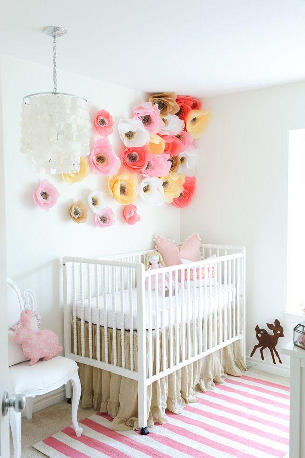 Poppy Wall in Nursery