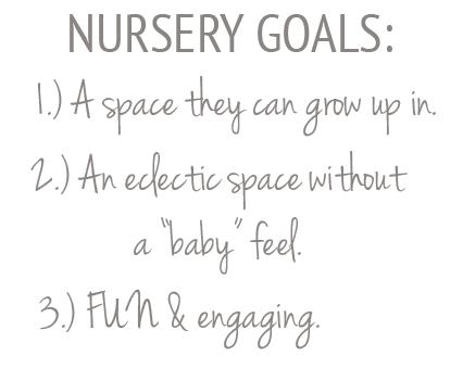 nursery-goals